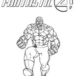 FANTASTIC FOUR coloring pages - 63 free superheroes coloring sheets | 155x155
