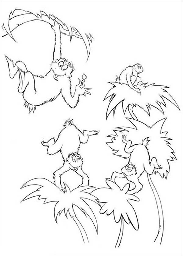 Horton, : The Wickershams from Horton Hears a Who Coloring Pages