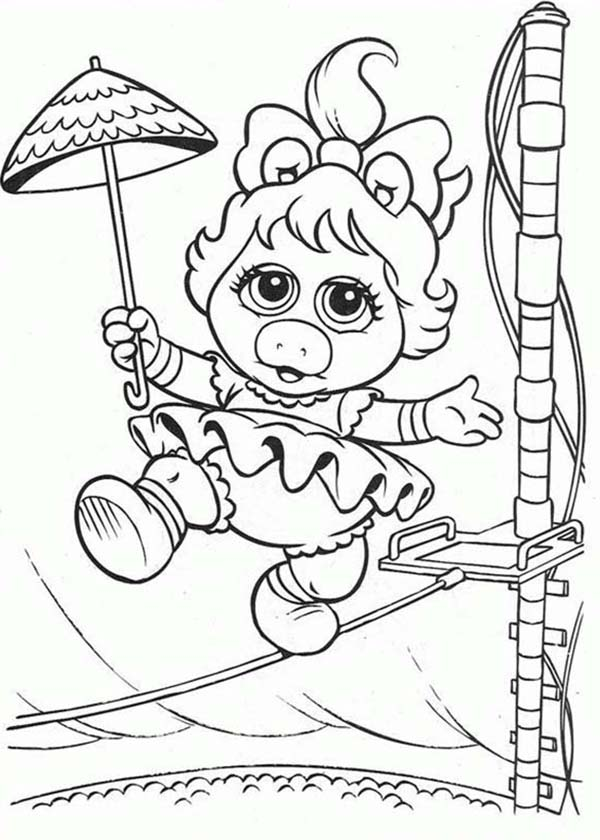 Muppet Babies, : Adventure of Muppet Babies Coloring Pages