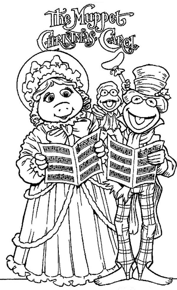 The Muppets, : Christmas Eve The The Muppets Show Coloring Pages