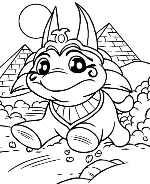 Neopets, : Cute Little Neopets Coloring Pages