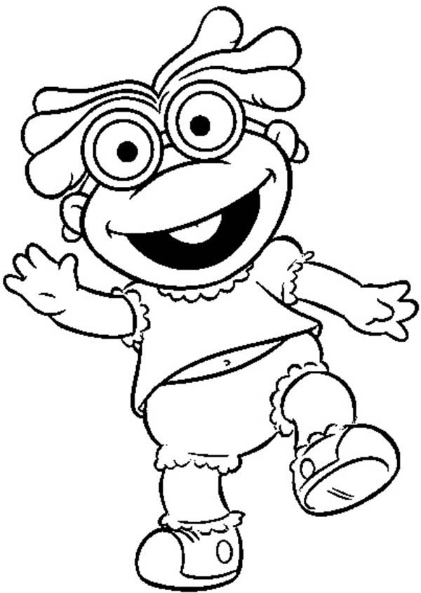 Muppet Babies, : Famous Muppet Babies Coloring Pages