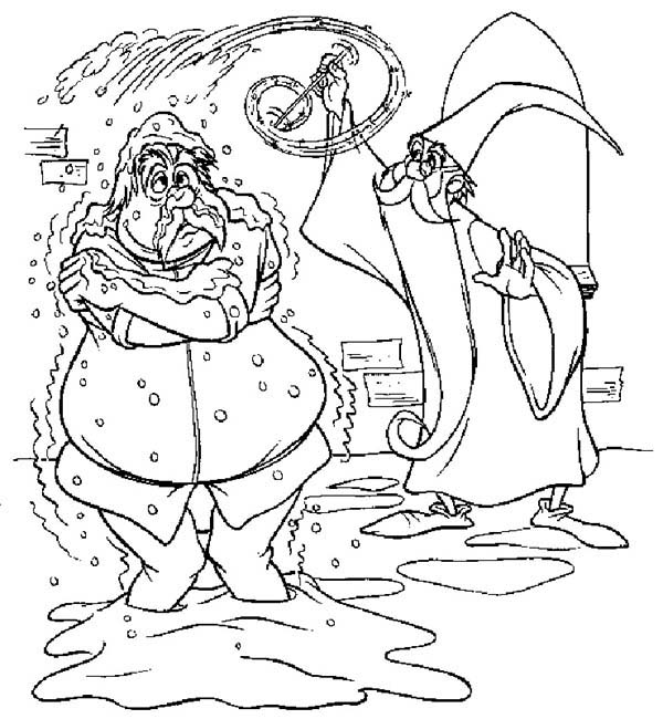 Merlin the Wizard, : How to Draw Merlin the Wizard Coloring Pages