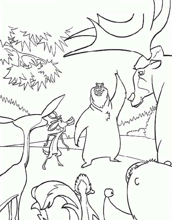 Oliver and Company, : How to Draw Open Season Coloring Pages
