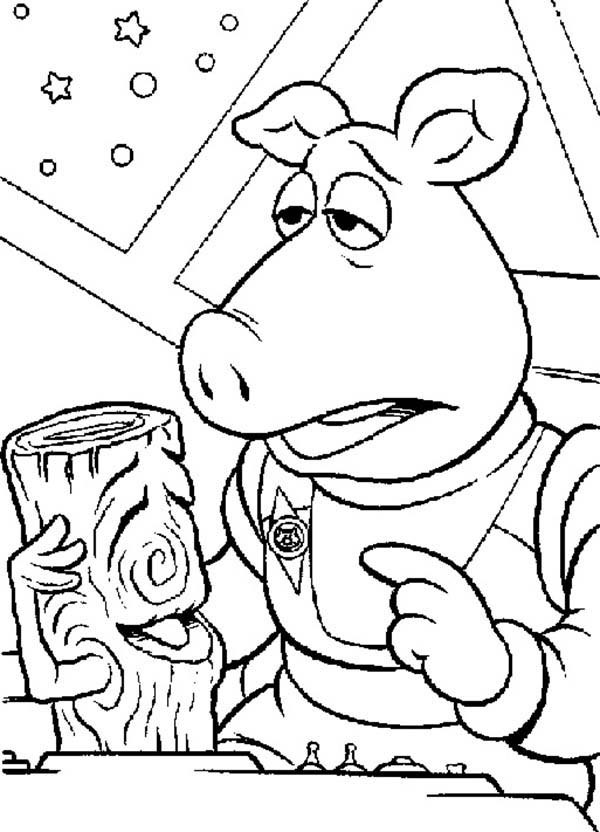 The Muppets, : How to Draw The Muppets Show Coloring Pages