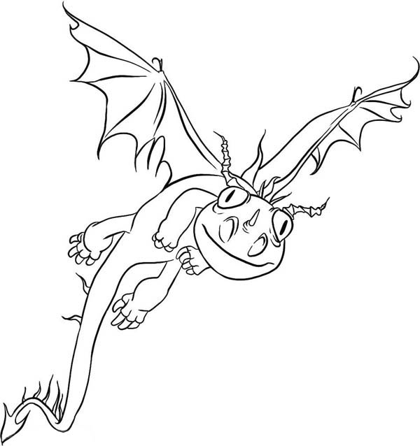 How to Train Your Dragon, : How to Train Your Dragon Coloring Pages Terrible Terror