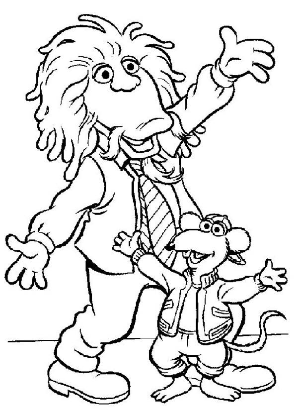 The Muppets, : Kids Fun Time in The Muppets Show Coloring Pages