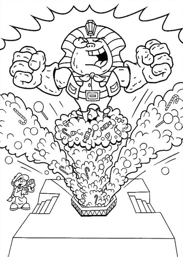 Kids Next Door, : Kids Next Door Coloring Pages Enemy has Pharaoh Power