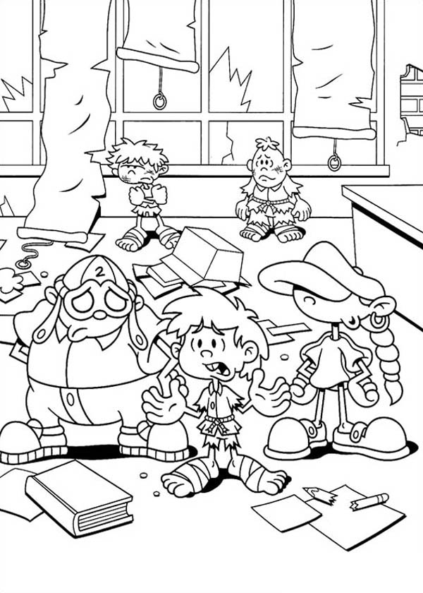 Kids Next Door, : Kids Next Door Coloring Pages has Fail Their Plan