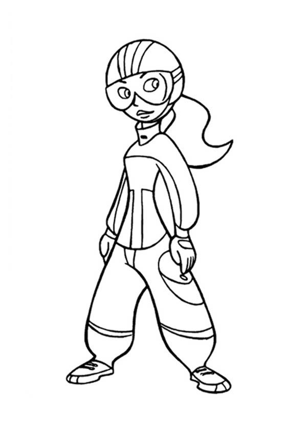 Kim Possible, : Kim Possible Ready in Action Coloring Pages