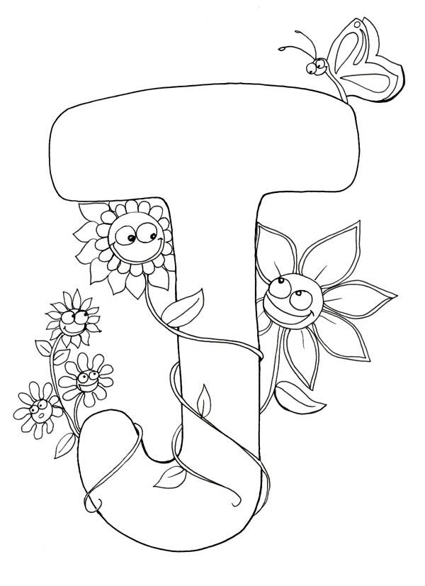 Letter J, : Kindergarten Kids Learning Letter J Coloring Page
