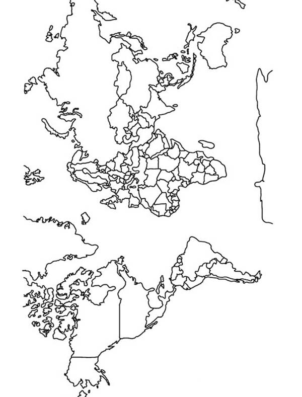 Maps, : Maps Coloring Pages for Kids