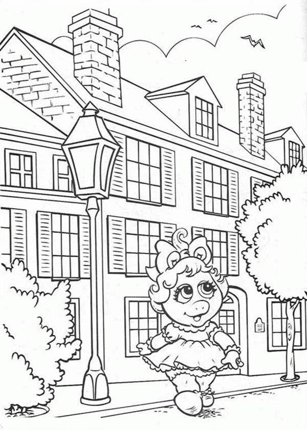 Muppet Babies, : Muppet Babies Coloring Pages for Kids