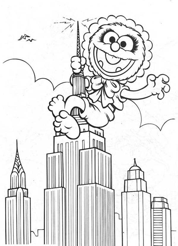 Muppet Babies, : Muppet Babies Coloring Pages