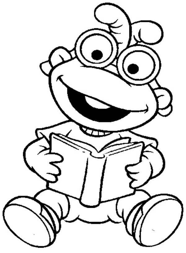 Muppet Babies, : Muppet Babies Learn to Read Coloring Pages
