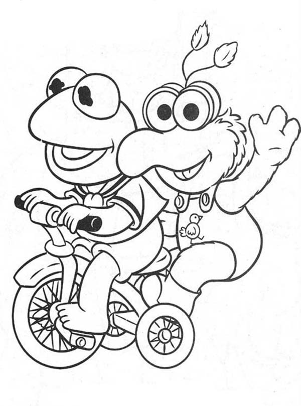 Muppet Babies, : Muppet Babies Picture Coloring Pages