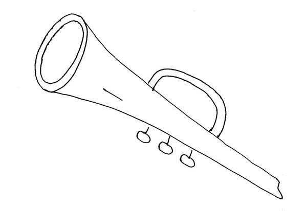 Musical Instruments, : Musical Instruments Coloring Pages for Kids