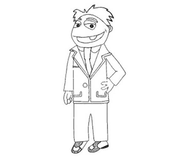 The Muppets, : The Muppets Coloring Pages for Kids