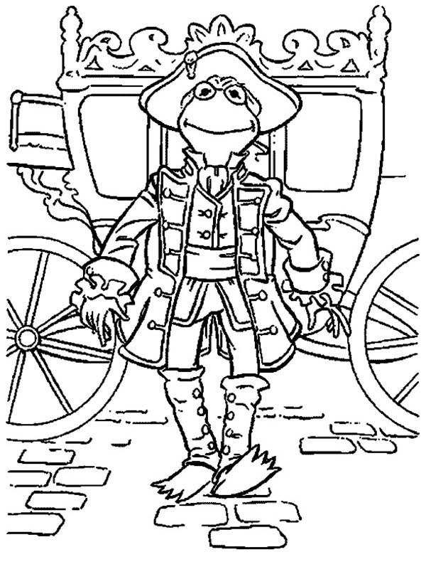 The Muppets, : The Muppets Kermit the Frog the Royal Family Coloring Pages