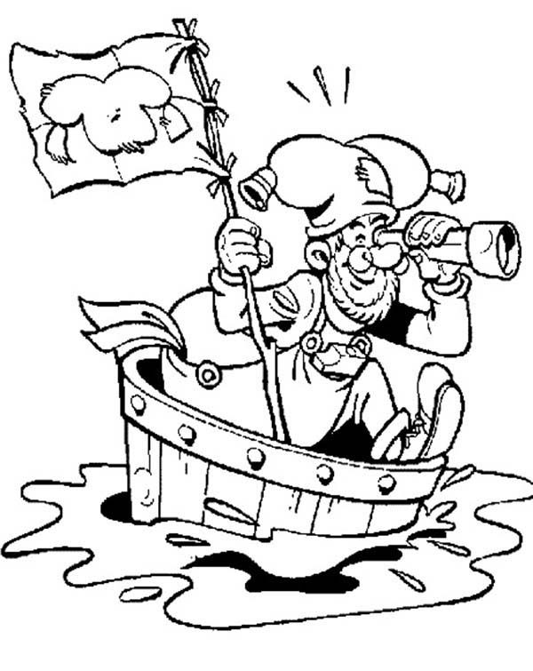 Plop the Gnome, : Adventure of Plop the Gnome Coloring Pages