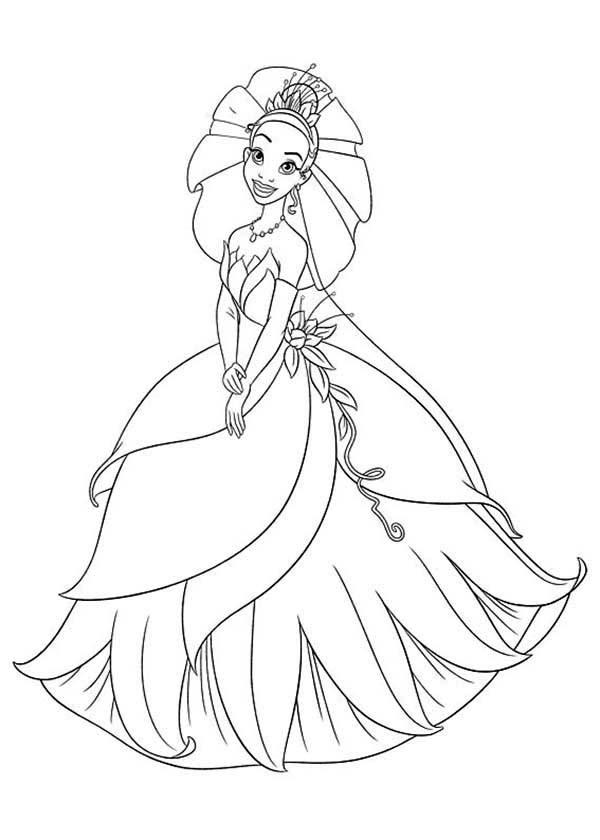 Princess and the Frog, : Amazing Princess and the Frog Coloring Pages