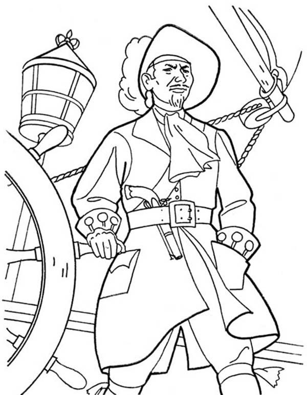 Piet Pirate, : Awesome Piet Pirate Coloring Pages