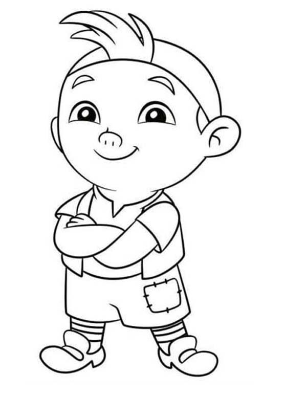 Piet Pirate, : Chibi Piet Pirate Coloring Pages