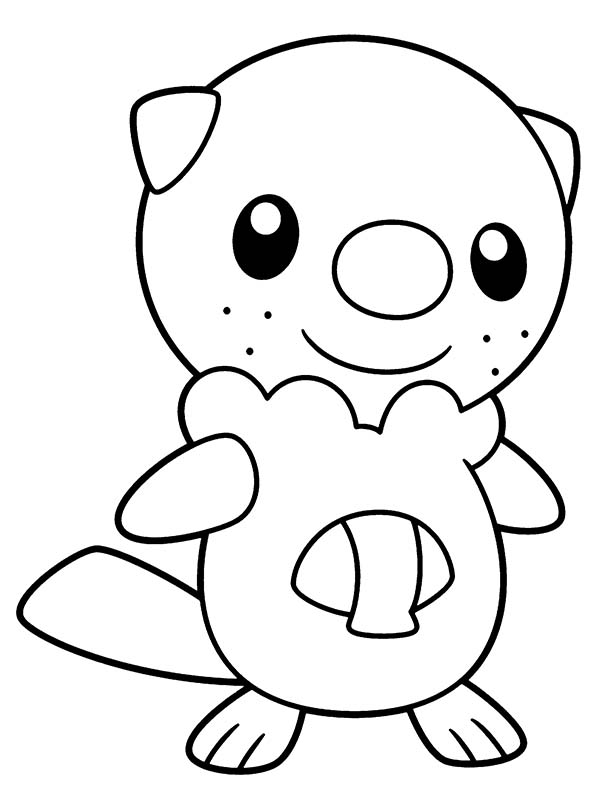 Pokemon, : Cute Little Pokemon Coloring Pages