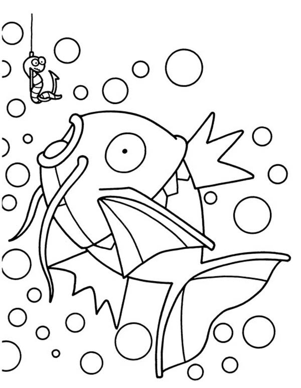 Pokemon, : Fish Pokemon Coloring Pages