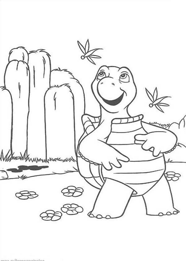 Over the Hedge, : How to Draw Verne the Turtle from Over the Hedge Coloring Pages