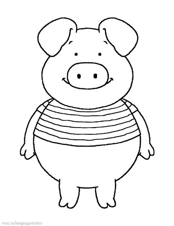 Piggly Wiggly, : Piggly Wiggly Picture Coloring Pages