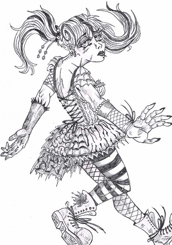 Pippi Longstocking, : Pippi Longstocking Devian Art Coloring Pages