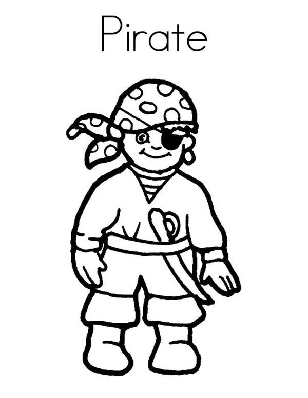 Pirates, : Pirate Coloring Pages for Kids