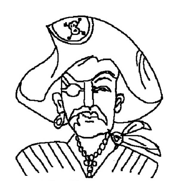 Pirates, : Pirate Picture Coloring Pages