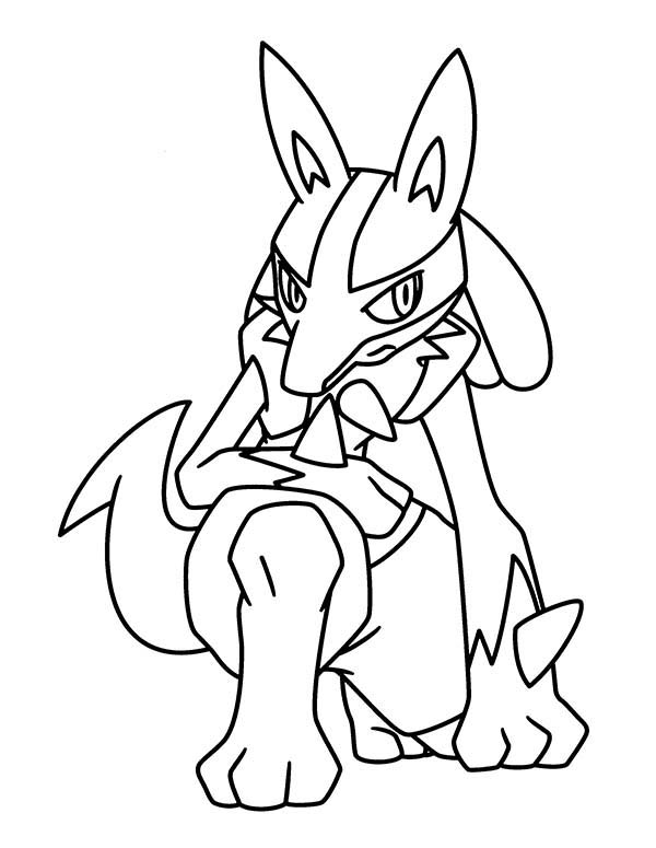 Pokemon, : Pokemon Coloring Pages for Kids