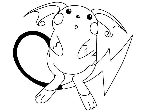 Pokemon, : Pokemon Pikachu Coloring Pages