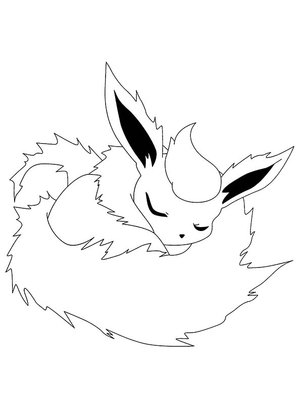 Pokemon, : Sleeping Pokemon Coloring Pages