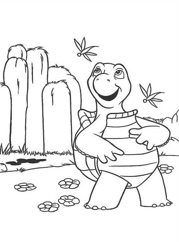 Over the Hedge, : Verne the Turtle Over the Hedge Character Coloring Pages