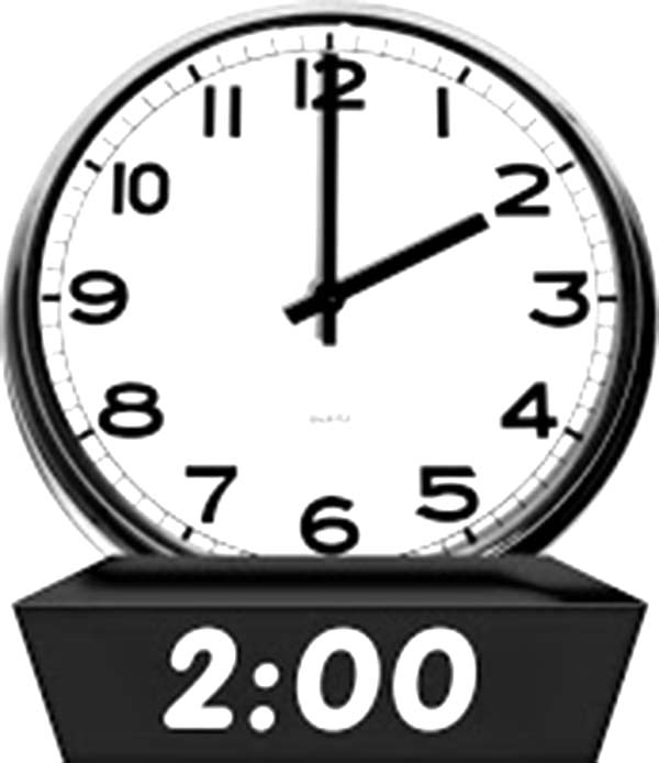 Analog Clock, : Alarm on Analog Clock Coloring Pages