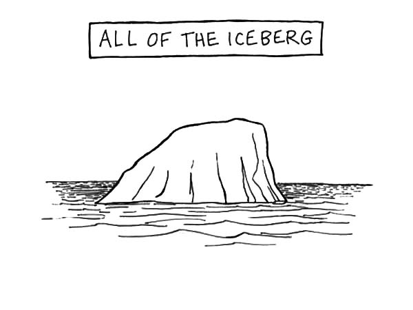 Iceberg, : All of the Iceberg Coloring Pages