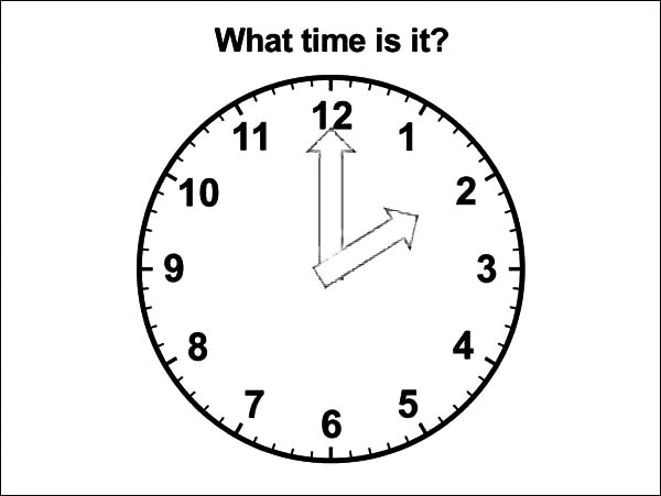 Analog Clock, : Analog Clock What Time is it Coloring Pages