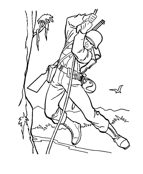 Army, : Army Forces Day Coloring Pages