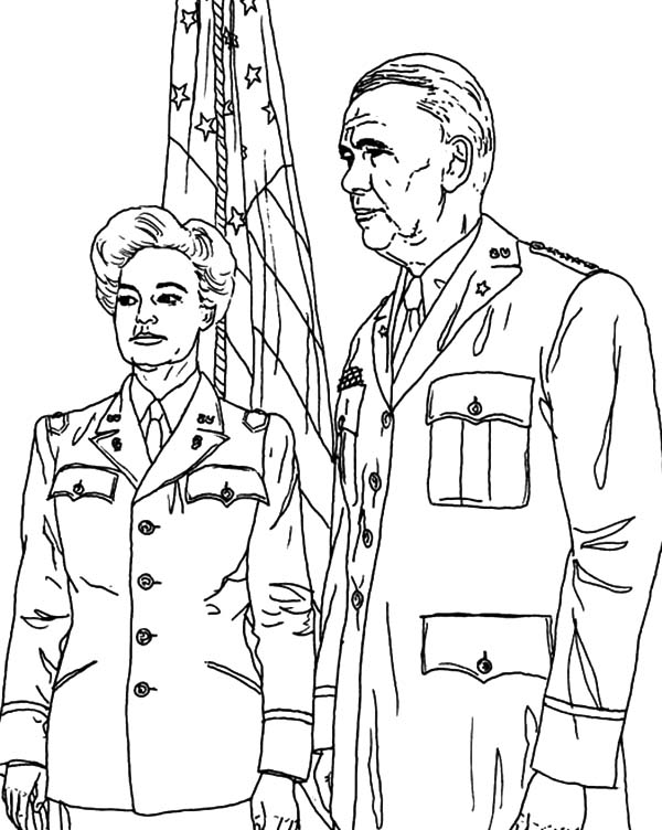 Army, : Army Veterans Coloring Pages