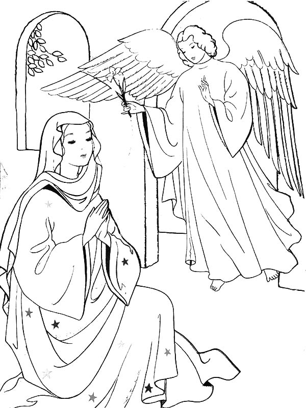The Christmas Story Coloring Pages - Come All Ye Faithful | 801x600