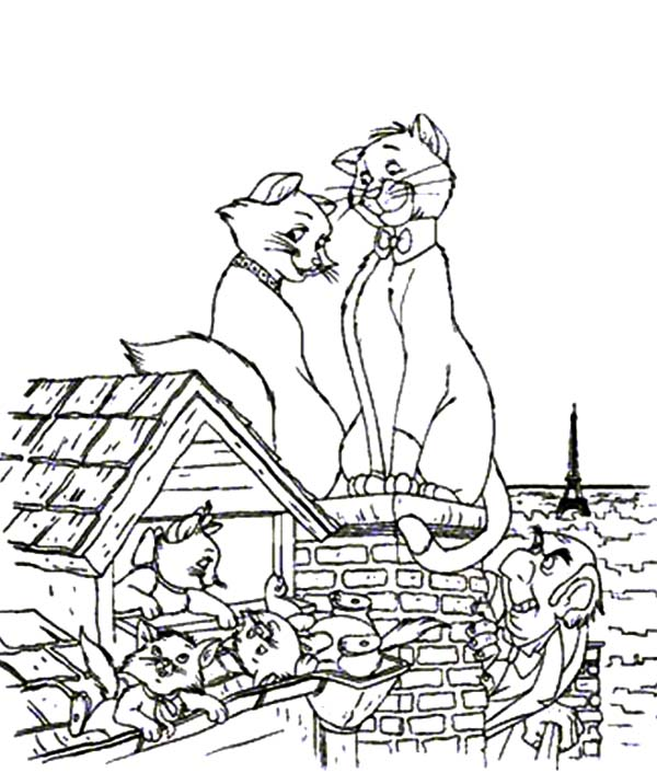 Aristocats, : Edgar Want to Get Rid of the Aristocats Coloring Pages