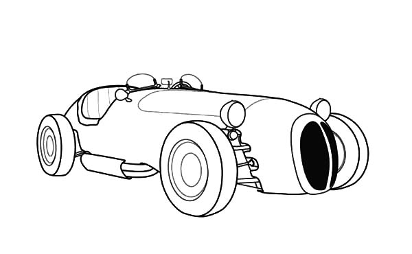 Jaguar Cars, : Jaguar Old Racing Cars Coloring Pages
