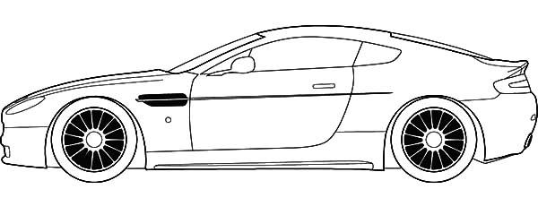 Jaguar Cars, : Jaguar Racing Cars Coloring Pages
