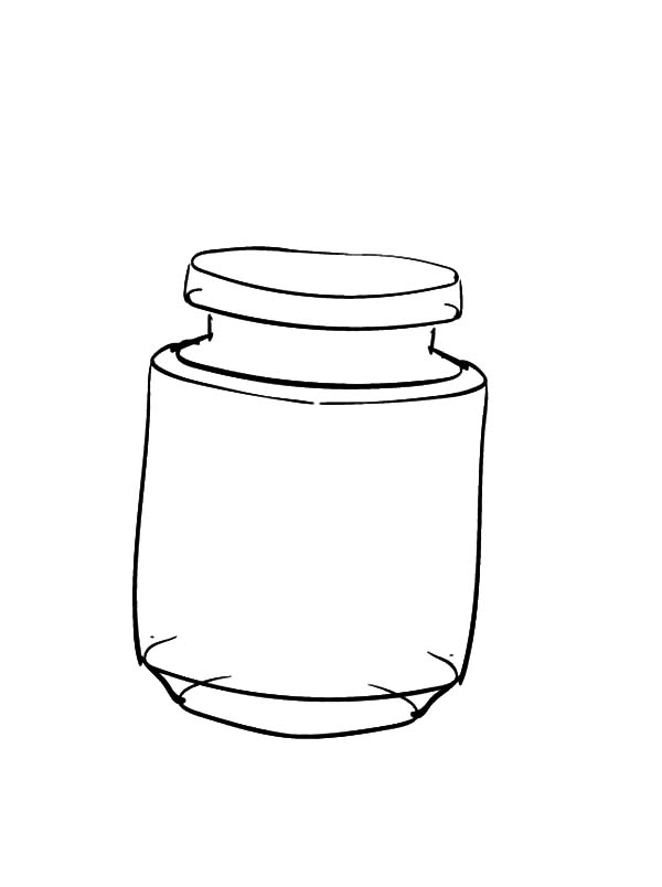 Jar, : Jar Picture Coloring Pages