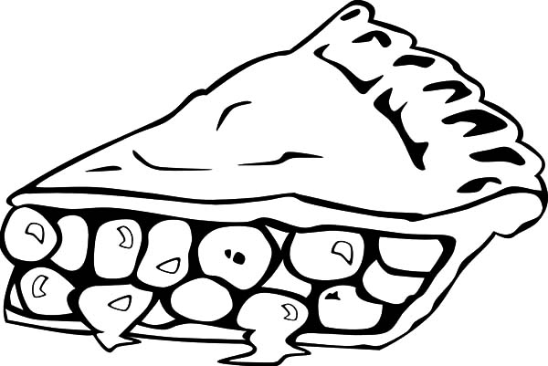 Apple Pie, : Lets Eat Apple Pie Coloring Pages