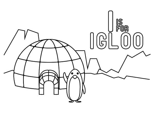 Igloo, : igloo